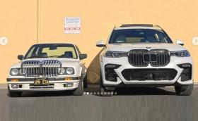BMW E30 с бъбреци от X7. Неизненадващ извод: наистина са огромни