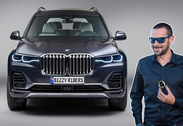 Карахме новите BMW X7 и Серия 7. Видео на модела с най-големите бъбреци!