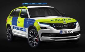 Skoda Kodiaq RS с 240 коня за британската полиция