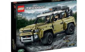 Това е новият Land Rover Defender! Или поне неговата LEGO Technic версия