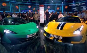 TopGear сезон 27 започна с Ferrari 488 Pista срещу McLaren 600LT и нови водещи
