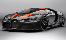Това e Bugatti Chiron Super Sport 300+, серийната версия на рекордьора. Вашe е за 9 млн. лв.