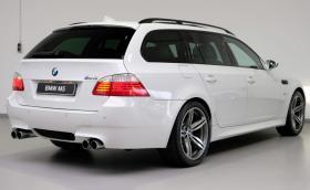 Това бяло BMW M5 E61 се продава за 97 000 лв.