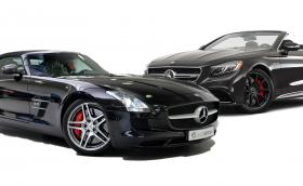 Mercedes-Benz SLS AMG Roadster или чисто нов Merc-AMG S 63 Cabriolet?
