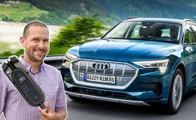 Карахме Audi e-tron, първият електрически модел на марката. Видео!