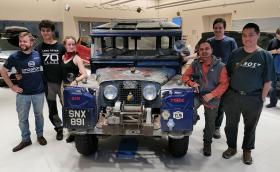 The Last Overland: от Сингапур до Лондон с 1955 Land Rover Series I