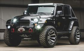 Този 2017 Jeep Wrangler Unlimited Sport е подготвен за Апокалипсис. Освен, ако въпросният не е студен