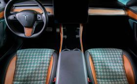 Tesla Model 3 с интериор от Vilner: нищо общо със серийната скука