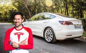 Караме Tesla Model 3. Видео!