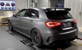 Къде е лимитът? Mercedes-AMG A45 вече с почти 600 к.с. от тунер