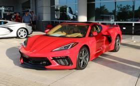 Новият Corvette стана Кола на Годината в Северна Америка