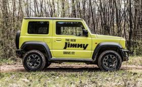 Suzuki превръща Jimny в камионетка, за да оцелее