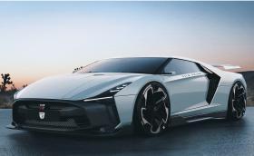 Ами ако Nissan GT-R50 беше със централен двигател? Щеше да е убийствен и да изглежда така