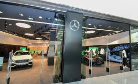 Mercedes-Benz откри уникален шоурум в Sofia Ring Mall