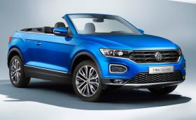 Volkswagen T-Roc... Convertible. Покривът пада за 9 секунди