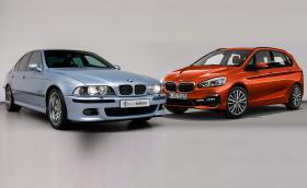 BMW M5 E39 на 20 години или чисто ново 220d Active Tourer? Цената е една: 70 хил. лв.