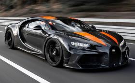 Това Bugatti Chiron Sport вдигна 490 км/ч. Рекордът отново е при Bugatti. Видео