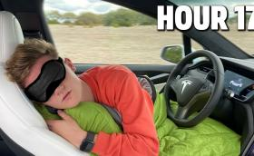 Влогър се впусна в 2000-км пътешествие с автономна Tesla. Изводите са интересни (видео)