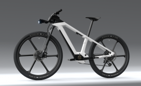Bosch показа странно е-колело с мека рамка
