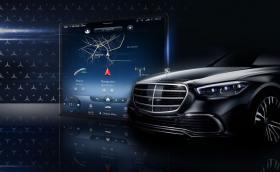 В сряда Mercedes ще покаже разработената в България MBUX на новата S-класа