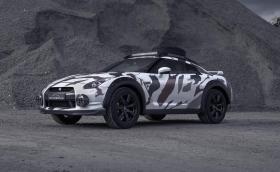Кой каза, че GT-R не става за офроуд?