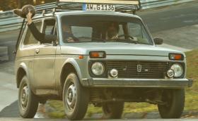 """Дръжте се! Това е Lada Niva на """"Нюрбургринг"""" (Видео)"""