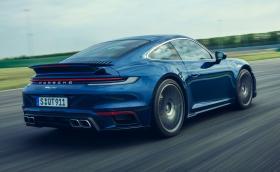 Новото 911 Turbo вдига 100 км/ч за 2,8 секунди