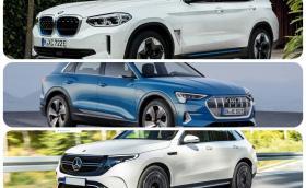 Audi e-tron vs BMW iX3 vs Mercedes EQC. Какво казват числата?