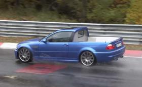"""Това е BMW E46 пикап на """"Ринга"""". Плюс други странни возила, пуснали се по пистата през последните дни (Видео)"""