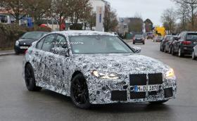 """BMW изтезава G80 M3 на """"Ринга"""" (Видео)"""
