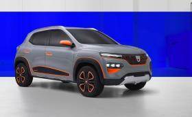 Dacia също е модерна: вижте електрическия Spring
