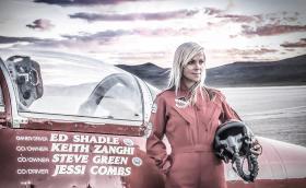 Посмъртно признаха постижението на Джеси Комбс - рекорда за скорост на суша при дамите от 855 км/ч