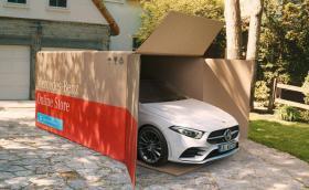 Mercedes вече доставя колите си до вратата… Засега само в Германия