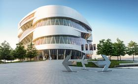Безплатен билет за музея на Mercedes-Benz от вкъщи