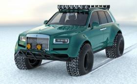 Кой каза, че Rolls-Royce Cullinan не става за офроуд!?