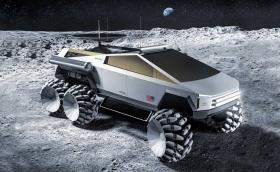 Tesla Cybertruck се качи на Луната