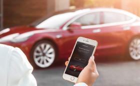 Собственик на Model 3 заключи крадец в колата си