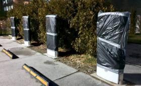 Зарядната станция на Tesla в Пловдив е готова