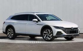 VW Arteon вече си има версия комби. Първи изтекли снимки!