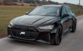 Audi RS6 от ABT - семейното комби вече е по-бързо от Audi R8 V10
