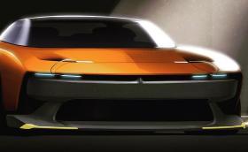 Това е отхвърлена официална скица за нов Dodge Challenger или Charger