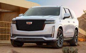 Новият Cadillac Escalade предлага общо 37 инча OLED дисплеи и дизел. Да, дизел!