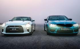 Видеото ни BMW M5 Comp и Nissan GT-R плъзна по света. Чупи рекорди и в YouTube канала ни!