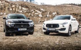 Maserati Levante: караме го с 430 бензинови коня и с дизел! Видео!