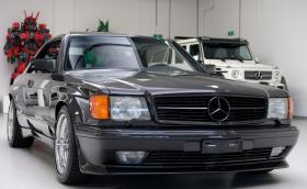 Този 1989 Mercedes-Benz 560 SEC 6.0 още се продава за 440 хил. лв.