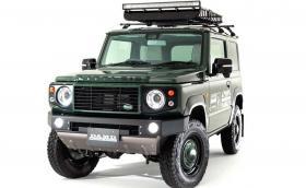 Малкият имитатор: Suzuki Jimny се прави на Land Rover Defener