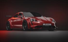 Prior Design сложи още малко 'Turbo' в Porsche Taycan