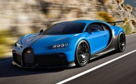 Bugatti Chiron Pur Sport е по-лек и по-бърз* Chiron