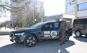 Ford и Volvo също се включиха в борбата с коронавирус у нас
