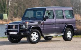 Puch 500 GE е първата G-класа с V8. А това е първият екземпляр, произведен въобще!